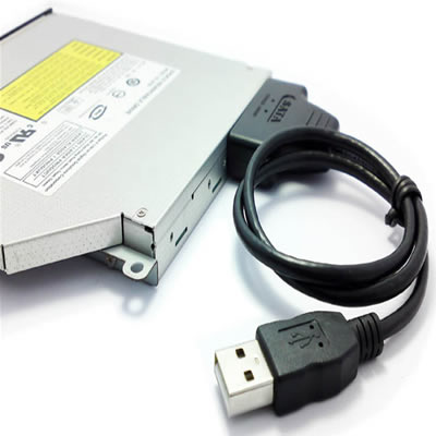 Slim-привод (для ноутбуков) adapter slimline sata cd/dvd adapter +sata-cable