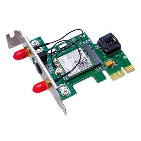 NGFF Wireless Card to PCI-e 1X Adapter M.2